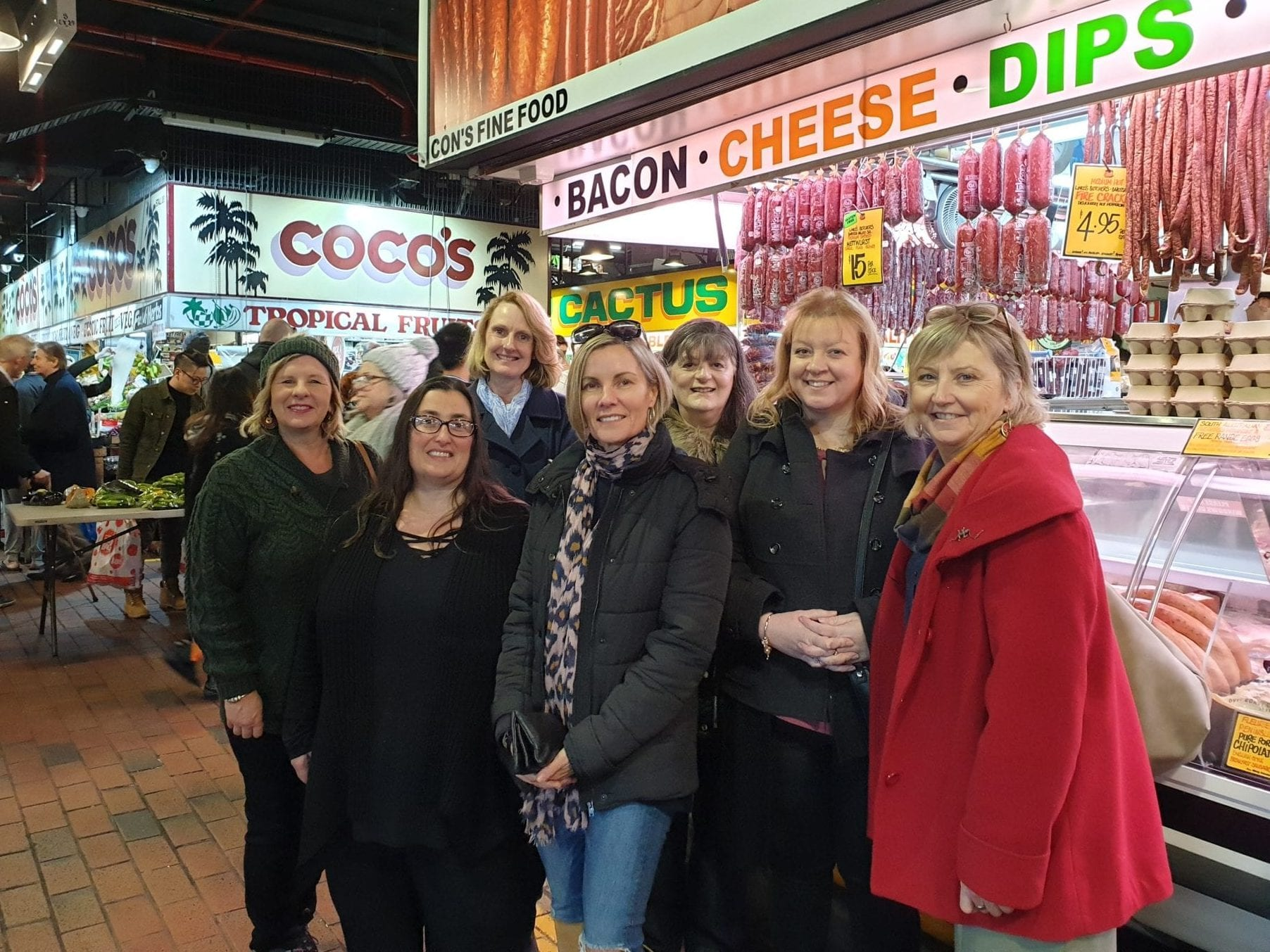 Adelaide residents enjoying food tour The F Factor with Flamboyance Tours